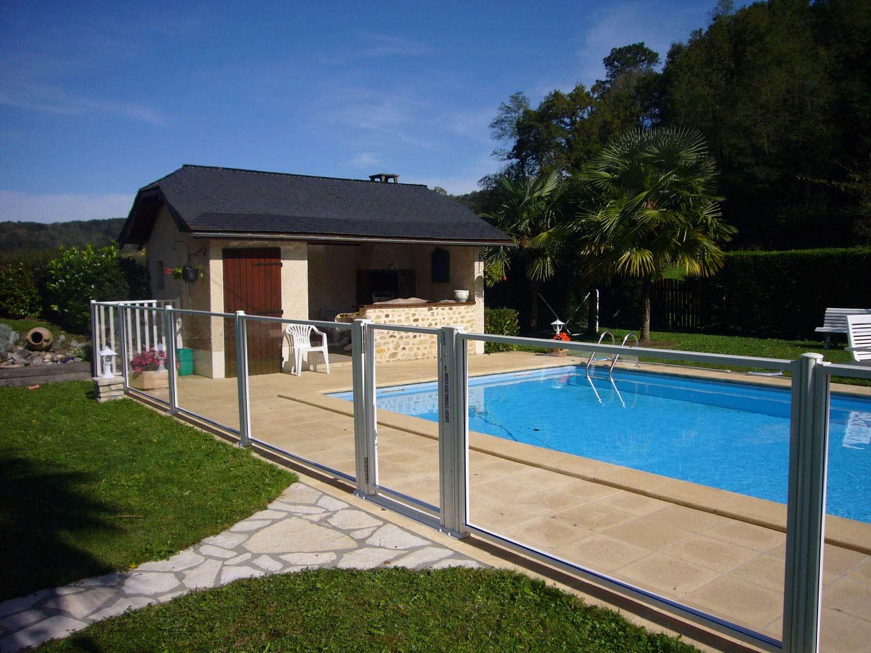 Barri re verre s curit de barrieres securite barrieres de piscine en verre pour une - Protection pour piscine enterree ...
